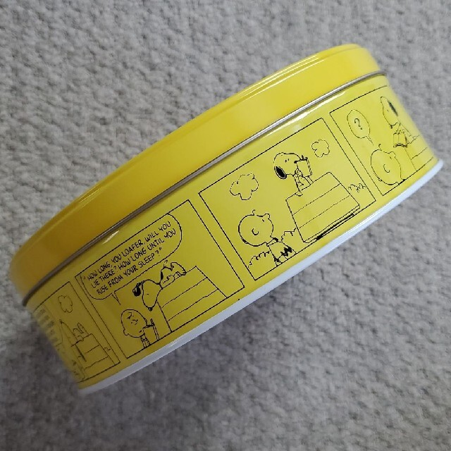 SNOOPY(スヌーピー)のスヌーピー 缶ケース インテリア/住まい/日用品のインテリア小物(小物入れ)の商品写真