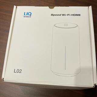 ファーウェイ(HUAWEI)のUQ WiMAX Speed Wi-Fi HOME L02(その他)