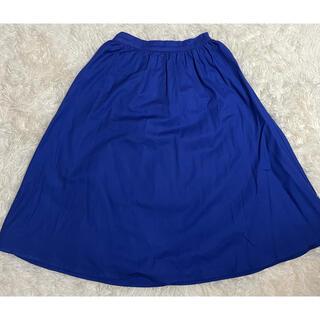 ジーユー(GU)の【美品】GU カラースカート 春(ひざ丈スカート)