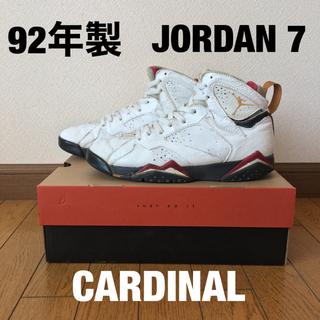 ナイキ(NIKE)のair jordan 7 CARDINAL 28.0(スニーカー)