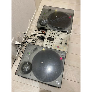 ターンテーブル technics DJセット(ターンテーブル)