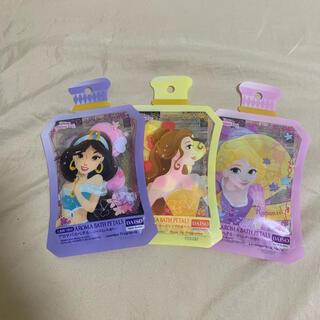 ディズニー(Disney)のDISNEY PRINCESS ジャスミン ベル ラプンツェル 入浴剤 ダイソー(入浴剤/バスソルト)