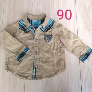 ハッカベビー(hakka baby)のHAKKA BABY★シャツ 90(Tシャツ/カットソー)
