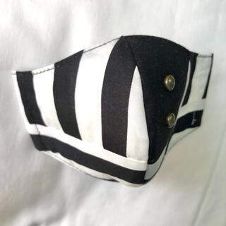 インナー マスク ハンドメイド  子供用 縞 縞々 ストライプ ボーダー(外出用品)
