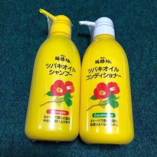 純椿油ヘアコンディショナー(500ml)ヘアシャンプー(500ml)(コンディショナー/リンス)