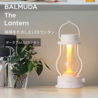 バルミューダ(BALMUDA)のバルミューダ ザ・ランタン ホワイト LED BALMUDA L02A-WH(テーブルスタンド)