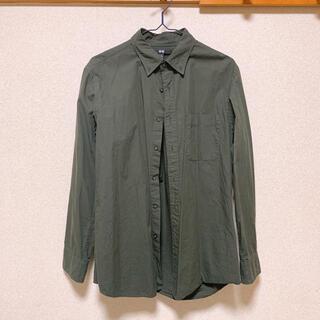 ユニクロ(UNIQLO)のUNIQLO カーキシャツ(シャツ/ブラウス(長袖/七分))