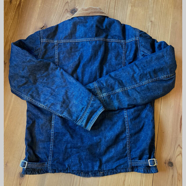 WAREHOUSE(ウエアハウス)のデニム カバーオール ウエアハウス L XL 42 warehouse メンズのジャケット/アウター(Gジャン/デニムジャケット)の商品写真