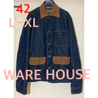 WAREHOUSE - デニム カバーオール ウエアハウス L XL 42 warehouse
