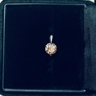 タカシマヤ(髙島屋)のダイヤモンドネックレス ptペンダントヘッド0.8ct お値下げ中(ネックレス)