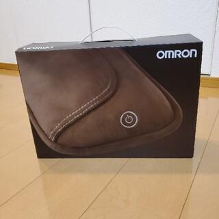 オムロン(OMRON)のお値下げ【未開封、未使用】オムロン 小型マッサージ機<HM-341-BW 茶>(マッサージ機)