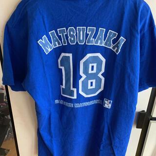 西武ライオンズ 松坂選手 Tシャツ(Tシャツ/カットソー(半袖/袖なし))