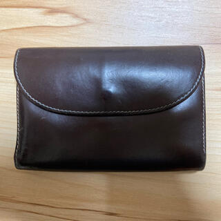 ホワイトハウスコックス(WHITEHOUSE COX)のホワイトハウスコックス ホリデーライン 三つ折り財布 ハバナ×オレンジ(折り財布)