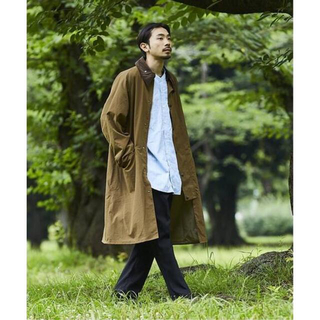 Barbour - 【バブアー/Barbour】JS別注 OS BURGHLEY-MU-TECH