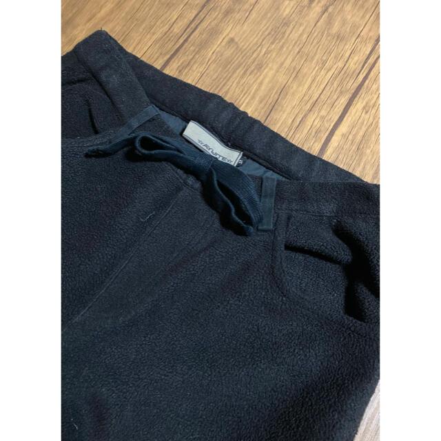 AYUITE(アユイテ)のAYUITE アユイテ コンチョボタン付き イージー テーパード フリースパンツ メンズのパンツ(その他)の商品写真