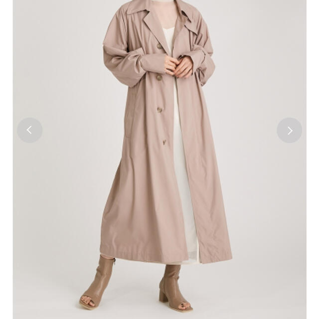 FRAY I.D(フレイアイディー)のFRAY.ID ライトステンカラーコート レディースのジャケット/アウター(ロングコート)の商品写真