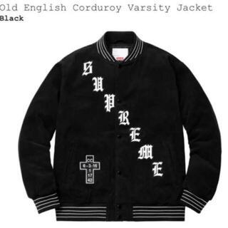 シュプリーム(Supreme)のSupreme Old English Corduroy Jacket(スタジャン)
