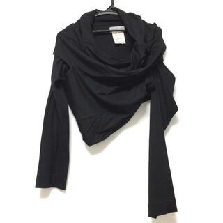 ヨウジヤマモト(Yohji Yamamoto)のヨウジヤマモト 長袖セーター サイズM - 黒(ニット/セーター)