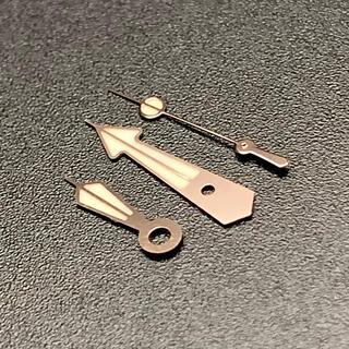 セイコー(SEIKO)のSEIKO 針 セット カスタム用 社外 SBDX ツナ缶 ローズゴールド(腕時計(アナログ))