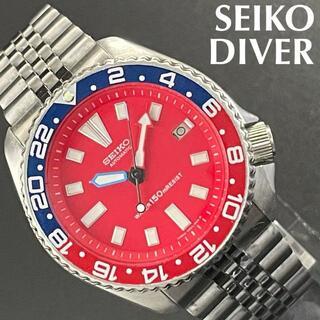 セイコー(SEIKO)の即購入OK◆セイコーSEIKO★ダイバーDIVERペプシベゼル150m防水(腕時計(アナログ))