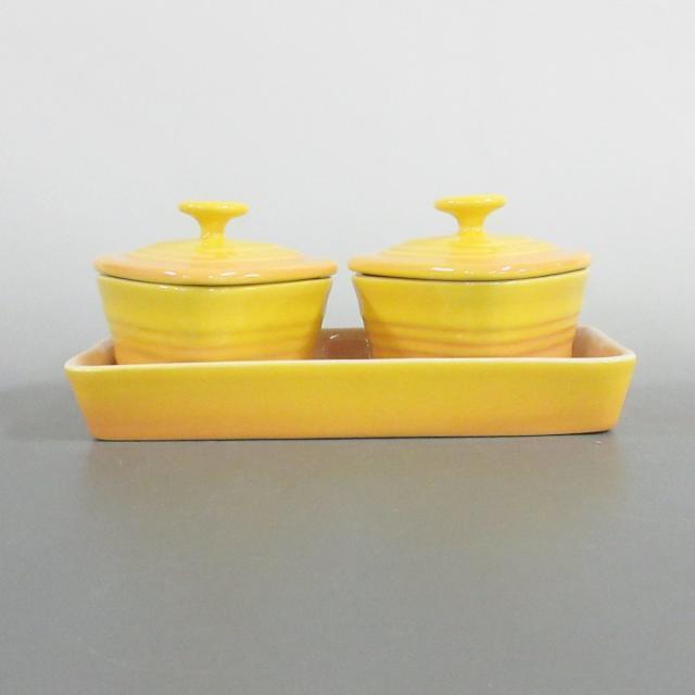 LE CREUSET(ルクルーゼ)のルクルーゼ 食器新品同様  - 陶器 インテリア/住まい/日用品のキッチン/食器(その他)の商品写真