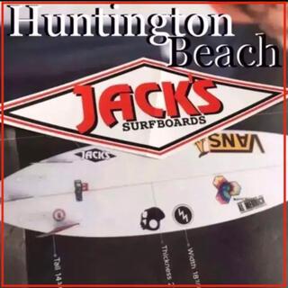 ヴァンズ(VANS)のJACK'Sジャックスサーフ@ハンティントンbeach限定ロゴステッカー(サーフィン)
