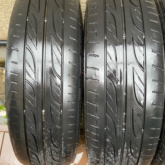 Goodyear(グッドイヤー)のウェッズ レオニス WX  4本セット  自動車/バイクの自動車(タイヤ・ホイールセット)の商品写真