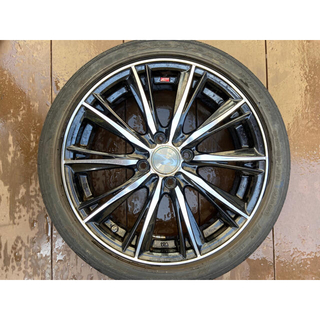 グッドイヤー(Goodyear)のウェッズ レオニス WX  4本セット (タイヤ・ホイールセット)