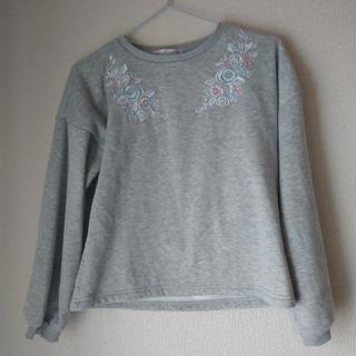 キャサリンコテージ(Catherine Cottage)の裏起毛刺繍トレーナー(Tシャツ/カットソー)