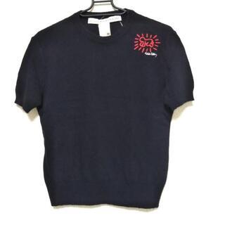 カステルバジャック(CASTELBAJAC)のカステルバジャック 半袖セーター 46 XL -(ニット/セーター)