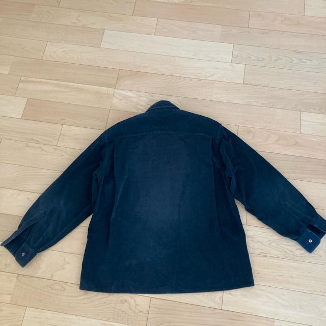 ARMANI COLLEZIONI(アルマーニ コレツィオーニ)のARMANI コーデュロイ 黒 アルマーニ コーデュロイ シャツ メンズのトップス(シャツ)の商品写真