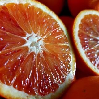 ブラッドオレンジ、特秀Mサイズ3キロ、熊本産(フルーツ)