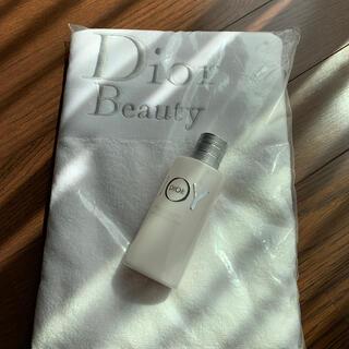 ディオール(Dior)のDior JOYボディミルク&ノベルティーバスタオル(タオル/バス用品)