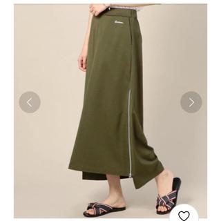 アメリカーナ(AMERICANA)の【yucca様専用】アメリカーナ  サイドジップスカート オリーブ (ロングスカート)