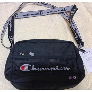チャンピオン(Champion)の新品・未使用〘 チャンピオン スクエアショルダーバッグ 〙カラー:ブラック(ショルダーバッグ)