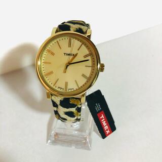 タイメックス(TIMEX)の格安!未使用品! タイメックス 腕時計 アニマル柄 レディース(腕時計)