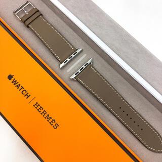 Apple Watch - 大人気廃盤色 アップルウォッチ HERMES レザーベルト AppleWatch
