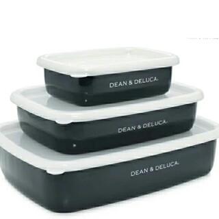 ディーンアンドデルーカ(DEAN & DELUCA)のDEAN&DELUCAディーン&デルーカホーローコンテナ3サイズセット(容器)