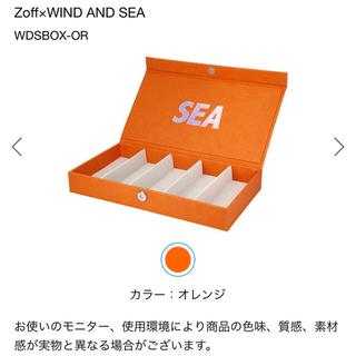 Zoff - Zoff×WIND AND SEA ウィンダンシー メガネ コレクションボックス