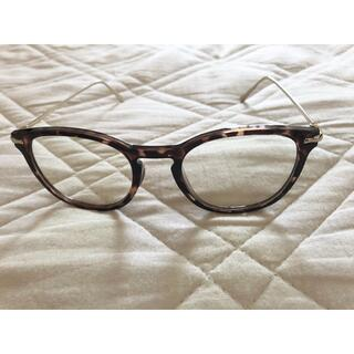ユニクロ(UNIQLO)のユニクロ ボストンコンビクリアサングラス(サングラス/メガネ)