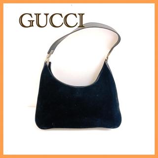 グッチ(Gucci)のGUCCI グッチ ワンショルダーバッグ スエード ハンドバッグ(ショルダーバッグ)