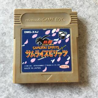 ゲームボーイ(ゲームボーイ)のゲームボーイソフト 熱闘サムライスピリッツ G18(家庭用ゲームソフト)