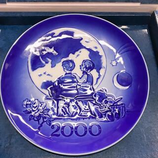 ロイヤルコペンハーゲン(ROYAL COPENHAGEN)のロイヤルコペンハーゲン イヤープレート 2000年(置物)