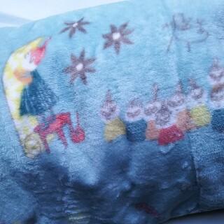 ムーミンブランケット ハーフケット(毛布)
