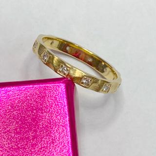 カオル(KAORU)のK18 18金 ダイヤモンド エタニティ リング 指輪 カオル? KAORU?(リング(指輪))