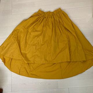 リミットレスラグジュアリー(LIMITLESS LUXURY)のリミットレスラグジュアリー 辛子色ロングスカート(ロングスカート)