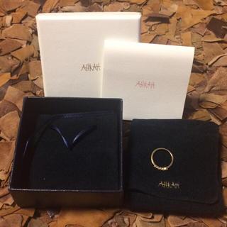 アーカー(AHKAH)のAHKAH アーカー エメピンキーリング(リング(指輪))