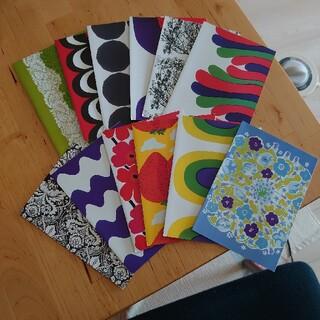 マリメッコ(marimekko)の【marimekko】グリーティングカード(12枚入)(カード/レター/ラッピング)