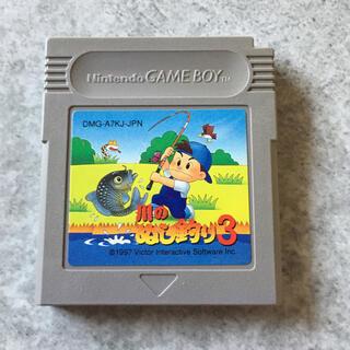 ゲームボーイ(ゲームボーイ)のG24 ゲームボーイソフト 川のぬし釣り3(家庭用ゲームソフト)