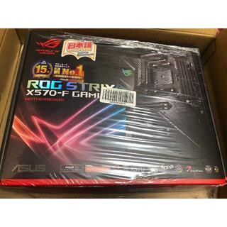 エイスース(ASUS)のASUS AMD AM4対応 ROG STRIX X570-F GAMING(PCパーツ)